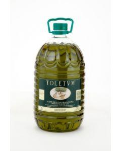 Toletum. Aceite de oliva koroneiki, Caja de 3 garrafas de 5 L